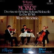 LP - Mozart - Divertimento Für Violine, Viola Und Violoncello Es-Dur KV 563