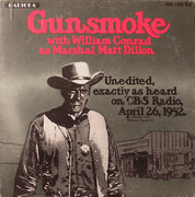 LP - William Conrad , Roy Rogers - Gunsmoke / Roy Rogers