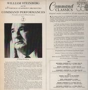 LP - William Steinberg And The The Pittsburgh Symphony Orchestra - Command Performances Volume 2 - gatefold