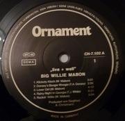 LP - Willie Mabon - Big Willie Mabon Live+Well - Stereo