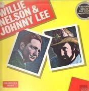 LP - Willie Nelson & Johnny Lee - Willie Nelson & Johnny Lee - still sealed