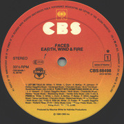 Double LP - Earth, Wind & Fire - Faces