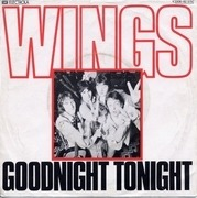 7'' - Wings - Goodnight Tonight