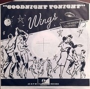 12'' - Wings - Goodnight Tonight / Daytime Nightime Suffering