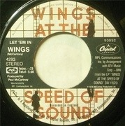 7'' - Wings - Let 'Em In