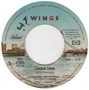 7inch Vinyl Single - Wings - London Town