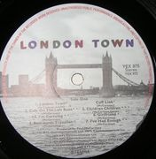 LP - Wings - London Town - Poster