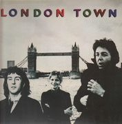 LP - Wings - London Town - + Poster