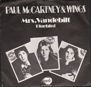 7inch Vinyl Single - Wings - Mrs. Vandebilt
