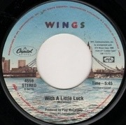 7'' - Wings - With A Little Luck