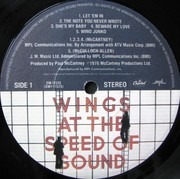 LP - Wings - At The Speed Of Sound