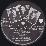 LP - Wings - Band On The Run
