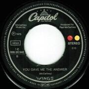 7inch Vinyl Single - Wings - Letting Go