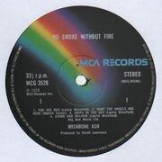 LP - Wishbone Ash - No Smoke Without Fire - NO BONUS 7''