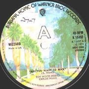 7'' - Wizzard - Are You Ready To Rock