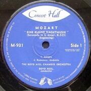 7inch Vinyl Single - Wolfgang Amadeus Mozart - Boyd Neel , The Boyd Neel Chamber Orchestra - Eine Kleine Nachtmusik
