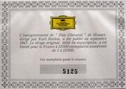 LP-Box - Wolfgang Amadeus Mozart - Dietrich Fischer-Dieskau , Ezio Flagello , Birgit Nilsson , Peter Schreie - Don Giovanni - Hardcover Box + Booklet with Libretto