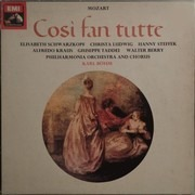 LP-Box - Wolfgang Amadeus Mozart - Elisabeth Schwarzkopf , Christa Ludwig , Hanny Steffek , Alfredo Kraus , - Così Fan Tutte