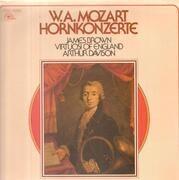 LP - Wolfgang Amadeus Mozart - James Brown , The Virtuosi Of England , Arthur Davison - Hornkonzerte