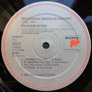 LP - Wolfgang Amadeus Mozart - Philharmonia Chorus & Philharmonia Orchestra , Carlo Maria Giulini , Lynn - Requiem KV 626