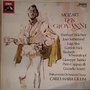 LP-Box - Wolfgang Amadeus Mozart - Philharmonia Orchestra And Chorus , Carlo Maria Giulini - Don Giovanni - booklet with libretto