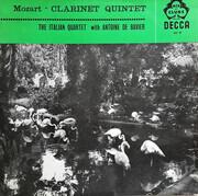 LP - Wolfgang Amadeus Mozart - Quartetto Italiano With Antoine De Bavier - Clarinet Quintet
