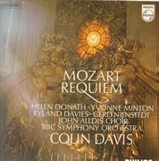LP - Wolfgang Amadeus Mozart - Sir Colin Davis With BBC Symphony Orchestra - Requiem
