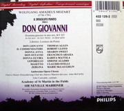 CD-Box - Mozart - Don Giovanni - Cardboard Box + Booklet
