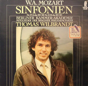 LP - Wolfgang Amadeus Mozart - Thomas Wilbrandt , Berliner Kammer-Akademie - Sinfonien