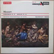 LP - Mozart - Concerto N° 27 / Sonate N° 11