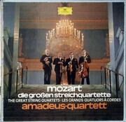 LP-Box - Wolfgang Amadeus Mozart , Amadeus-Quartett - Die Großen Streichquartette
