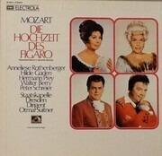 LP-Box - Mozart/ A. Rothenberger , H. Güden , H.Prey , W. Berry - Die Hochzeit Des Figaro - booklet