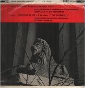 LP - Wolfgang Amadeus Mozart , Concertgebouworkest , Eduard Van Beinum , The London Philharmonic Orchest - Symphony 33 / Drum-Roll Symphony