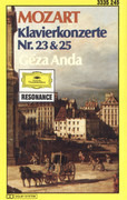 MC - Wolfgang Amadeus Mozart - Klavierkonzerte Nr. 23 & 25