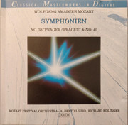 CD - Wolfgang Amadeus Mozart - Symphonien No.38 & No.40 (Mozart Festival Orchestra)