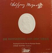 Double LP - Wolfgang Amadeus Mozart , Otmar Suitner , Staatskapelle Dresden , Chor der Staatsoper Dresden , Jut - Die Entführung Aus Dem Serail - Hardcover Box + Booklet with Libretto