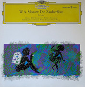LP - Mozart - RIAS - Die Zauberflöte - Kurzoper - Gatefold