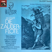 LP - Wolfgang Amadeus Mozart , Tiana Lemnitz , Helge Roswaenge , Gerhard Hüsch , Wilhelm Strienz , Berli - Die Zauberflote