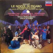 LP-Box - Wolfgang Amadeus Mozart , Wiener Philharmoniker , Erich Kleiber , Hilde Güden , Lisa Della Casa , S - Le Nozze Di Figaro - Hardcover Box + Booklet with Libretto
