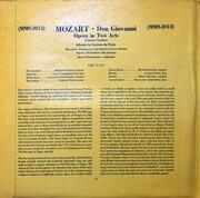 Double LP - Wolfgang Amadeus Mozart , Wiener Staatsopernchor , Wiener Symphoniker , Hans Swarowsky - Don Giovanni