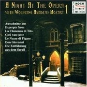 CD - Wolfgang Amadeus Mozart - A Night at the Opera with Wolfgang Amadeus Mozart 1