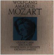 LP-Box - Wolfgang Amadeus Mozart - Ouvertüren - Serenaden - Symphonien - Konzerte - Krönungsmesse - linen box