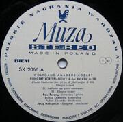 12inch Vinyl Single - Mozart - Piano Concertos