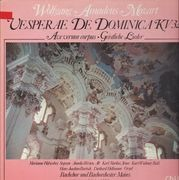 LP - Wolfgang Mozart - Vesperae De Dominica KV321