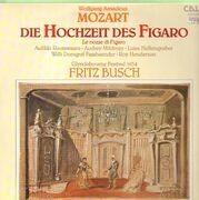 Double LP - Wolfgang Amadeus Mozart, Fritz Busch - Die Hochzeit des Figaro