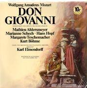 LP - Mozart, Mathieu Ahlersmeyer, Marianne Schech, Hans Hopf - Don Giovanni