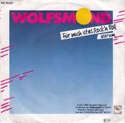 7'' - Wolfsmond - Für Mich Ist Es Rock'n Roll