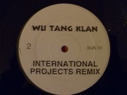 12inch Vinyl Single - Wu-Tang Clan - Sunshower / International Projects (Remix)