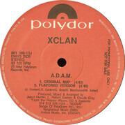 12inch Vinyl Single - X-Clan - A.D.A.M. / F.T.P.