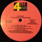 LP - X-Clan - To The East, Blackwards - Still sealed